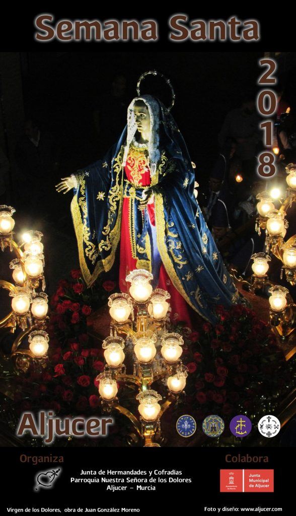 Cartel Semana Santa Aljucer 2018