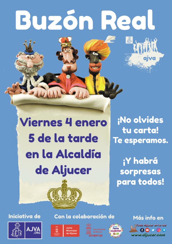 Reyes Magos en Aljucer Buzón Real AJVA 2019