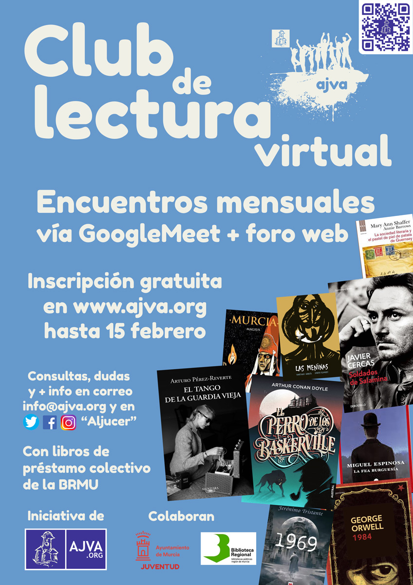 Club de lectura virtual AJVA Aljucer